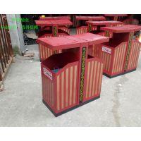 环畅定制款钢制垃圾桶 特色款果皮箱 市政垃圾箱 街道垃圾桶
