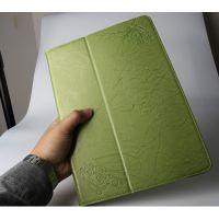 惠州平板电脑皮套工厂13寸带支架带休眠仿皮保护壳OEM贴牌加工订做