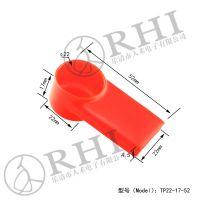 加长版蓄电池连接铜排保护套连接片绝缘保护
