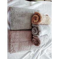 百盛厂家加工超细纤维珊瑚绒长毛毛巾、面巾 速干超吸水毛巾