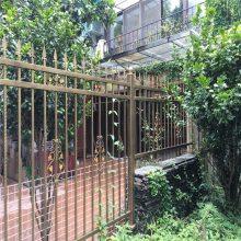 围墙建设护栏 景区建设围栏 厂区外墙隔离栏杆