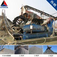 山东济宁石子厂引进时产300吨河卵石打砂机生产线