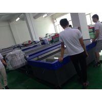 深圳直售彩雕背景墙UV打印机 玻璃 移门UV平板打印机