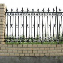 铸铁栏杆 别墅小区防护栏 铁艺护栏 河南新力定制
