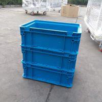 青岛地区厂家加工定制KEF-EF013塑料周转箱工业可堆式周转箱质优价廉选科尔福