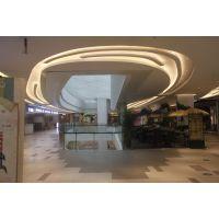 室内吊顶造形铝单板制作工艺,美丽弧形铝单板批发价格。