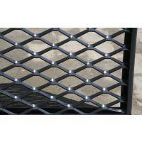 江苏亘博铝镁合金版菱形钢板网生产设备焊接厂家直销