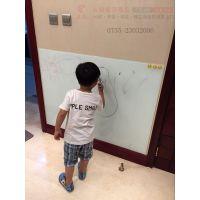 惠州立式钢化玻璃白板S磁性双面黑板X双面翻转写字板