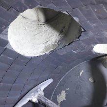 耐磨陶瓷片是由氧化铝粉经过压力机压制后高温1700℃烧结而成耐腐蚀