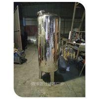 清泽蓝现货直销小型立式不锈钢机械过滤器 ф600X1950过滤砂罐 大小规格可定制