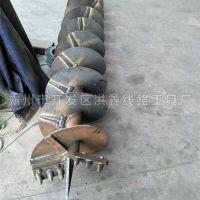 武安市河北厂家销售电线杆打坑机 售后有保障 洪鑫新款改装电线杆钻孔机厂家