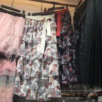 夏季新款韩版女装短袖荷叶边喇叭袖印花薄款花色碎花雪纺衫女上衣