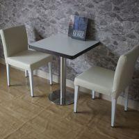 海德利定制简约现代奶茶店咖啡厅冷饮店餐桌椅网咖茶餐厅实木桌椅甜品店桌椅组合