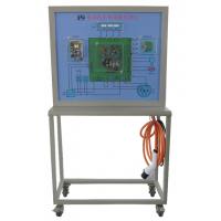 直流充电桩充电交互及通信原理实训台