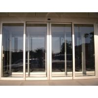 越秀自动玻璃门安装,松下感应门电机18027235186