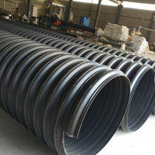 大口径钢带增强排污管 800市政排污专用钢带螺旋管河北厂家热销