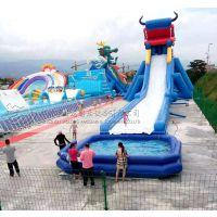 儿童移动水上乐园一整套的报价郑州卧龙充气水池的价格