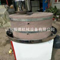 家用型电动石磨花生酱豆浆机 香油米浆磨 振德直销 豆制品加工设备