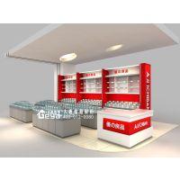 南京超市零食展示柜订制-优之良品食品柜台定做厂家