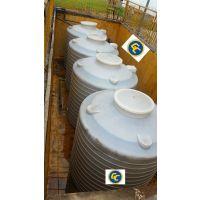 立式圆形水箱 塑料大水桶 5吨工厂供水 大号储水罐 5立方加厚带水龙头