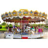 郑州嘉信16座豪华转马,装饰华丽,低价促销儿童游乐设备