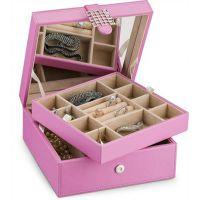 高档首饰盒定做戒指耳钉项链盒 欧式珠宝首饰盒收纳多用包装盒