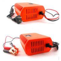 12v汽车摩托车蓄电池充电器铅酸大容量电瓶智能充电器厂家批发