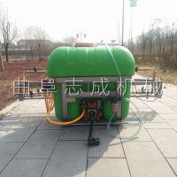 志成新型四轮悬挂式打药机500L农用杀虫喷雾器高压柱塞泵喷药机厂家