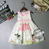 品牌童装《流行娃娃》夏装公主裙品牌童装折扣一手批发
