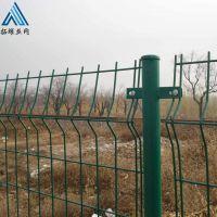 供应绿色铁丝网防护栏