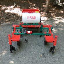 多功能农用喷药覆膜机 牵引式蔬菜大棚铺膜机 乐丰牌