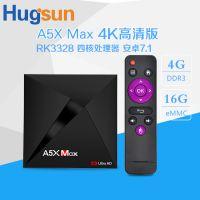 Android 7.1网络播放器A5X Max TV BOX RK3328电视机顶盒子