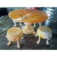 重庆批量订做仿玉石餐桌椅硅胶模具 客厅专用玉石餐桌椅模具 卧室玉石小书桌模具 雕刻花纹玉石餐桌硅胶模