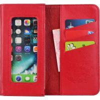 虎克真皮手机钱包/适用华为4-6英寸各品牌手机/手机专用保护套