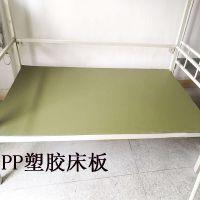 批发塑胶床板 宿舍铁床用塑料床板 PP板材塑料板防虫防潮经久耐用