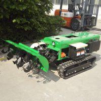 果树履带式追肥机 自走式施肥回填开沟机 履带式旋耕开沟机