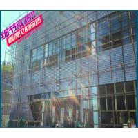 江苏南通市奥迪4S店展厅墙身转塔冲床成型网孔铝单板合作厂家