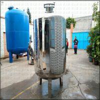 广旗304不锈钢食用级无菌储存箱 水厂10吨大容量储水罐 厂家直销