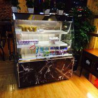 鲜之语面包房冷藏,徽点品牌酸奶鲜奶展示保鲜柜,1.5米开放式三明治柜