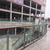 耀恒 【工程案例】市政府办公楼消防楼梯不锈钢栏杆/304楼梯立柱