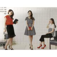 国内二三线品牌折扣女装加盟魔美名作多种款式多种风格女装批发尾货库存走份