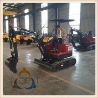 小型挖掘机用心为科技三人行机械厂家