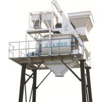 四川达州鑫旺1000型四米半支腿搅拌设备配料机组合用