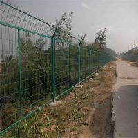 框架铁丝网圈地荷兰网 高速公路隔离栅钢丝网