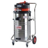 四川食品厂用吸尘器 吸地面水渍固体颗粒用威德尔220V工业吸尘器