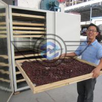 滑子菇烘干机 哈尔滨中联热科 空气能热泵干燥箱房 ZL无污染环保节能