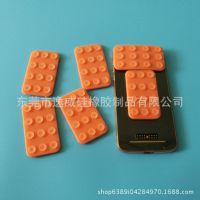 硅胶手机配件吸盘 车载双面手机吸盘防滑垫 手机赠品硅胶礼品定制