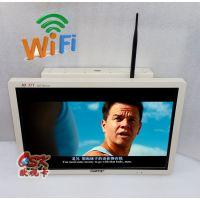 欧视卡19寸固定式网络版车载广告机 无线WIFI传输节目 吸顶壁挂