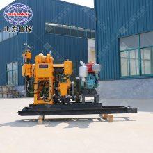 山东鲁探可移机式钻探机HZ-130YY液压勘探钻机回转式钻机