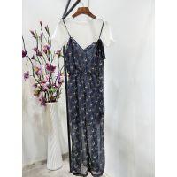 17年新品女装 纳纹旗下时尚品牌MISS LI夏装一手货源走份批发